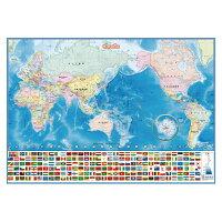 いろいろ書ける消せる世界地図