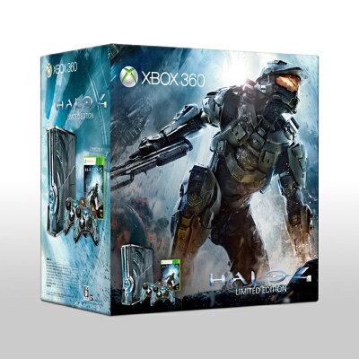 【送料無料】Xbox 360 320GB Halo 4 リミテッド エディション