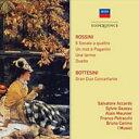 【輸入盤】弦楽のためのソナタ集、パガニーニに寄せるひと言、他サルヴァトーレ・アッカルド、ブルーノ・カニーノ、ガゾー、ムニエ、他(2CD) [ ロッシーニ(1792-1868) ]
