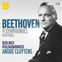 【輸入盤】交響曲全集、序曲集 アンドレ・クリュイタンス&ベルリン・フィル(5CD) [ ベートーヴェ