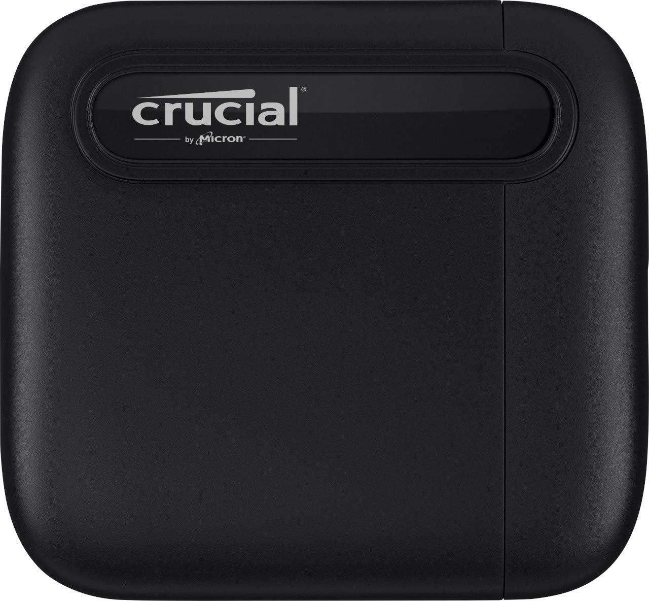 【お買い物マラソン期間限定価格】Crucial X6 500GB Portable SSD