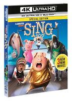 SING/シング(4K ULTRA HD+ブルーレイ)【4K ULTRA HD】