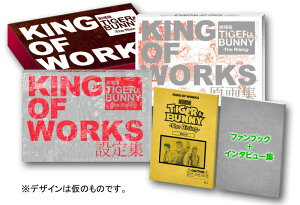 【送料無料】劇場版TIGER & BUNNY-The Rising- KING OF WORKS