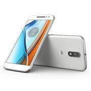 モトローラ SIMフリースマートフォン Moto G4 Plus 16MP 32GB ホワイト AP3753AD1J4