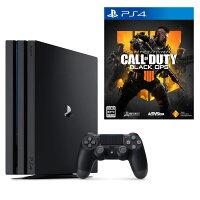 PlayStation4 Pro ジェット・ブラック 1TB+コール オブ デューティ ブラックオプス 4の画像
