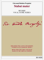 【輸入楽譜】ペルゴレージ, Giovanni Battista: スタバト・マーテル/ペルゴレージ全集版/Frige編曲/トスカーニ編: ヴォーカルスコア