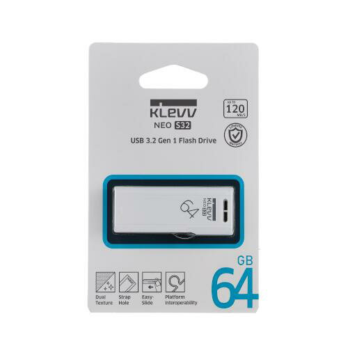 【KLEVV】NEO S32 USB3.2 Gen1 Flash Drive 64GB