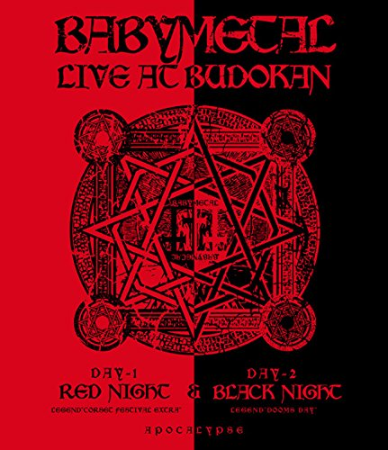 ミュージック, その他 LIVE AT BUDOKAN RED NIGHT BLACK NIGHT APOCALYPSE Blu-ray BABYMETAL