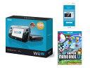 【送料無料】Wii U プレミアムセット+Wii U GamePad 画面保護シート+New スーパーマリオブラ...