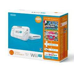 【送料無料】Wii U すぐに遊べるファミリープレミアムセット(シロ)