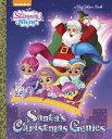 Santa's Christmas Genies SANTAS XMAS GENIES (Big Golden Book) [ Hollis James ]