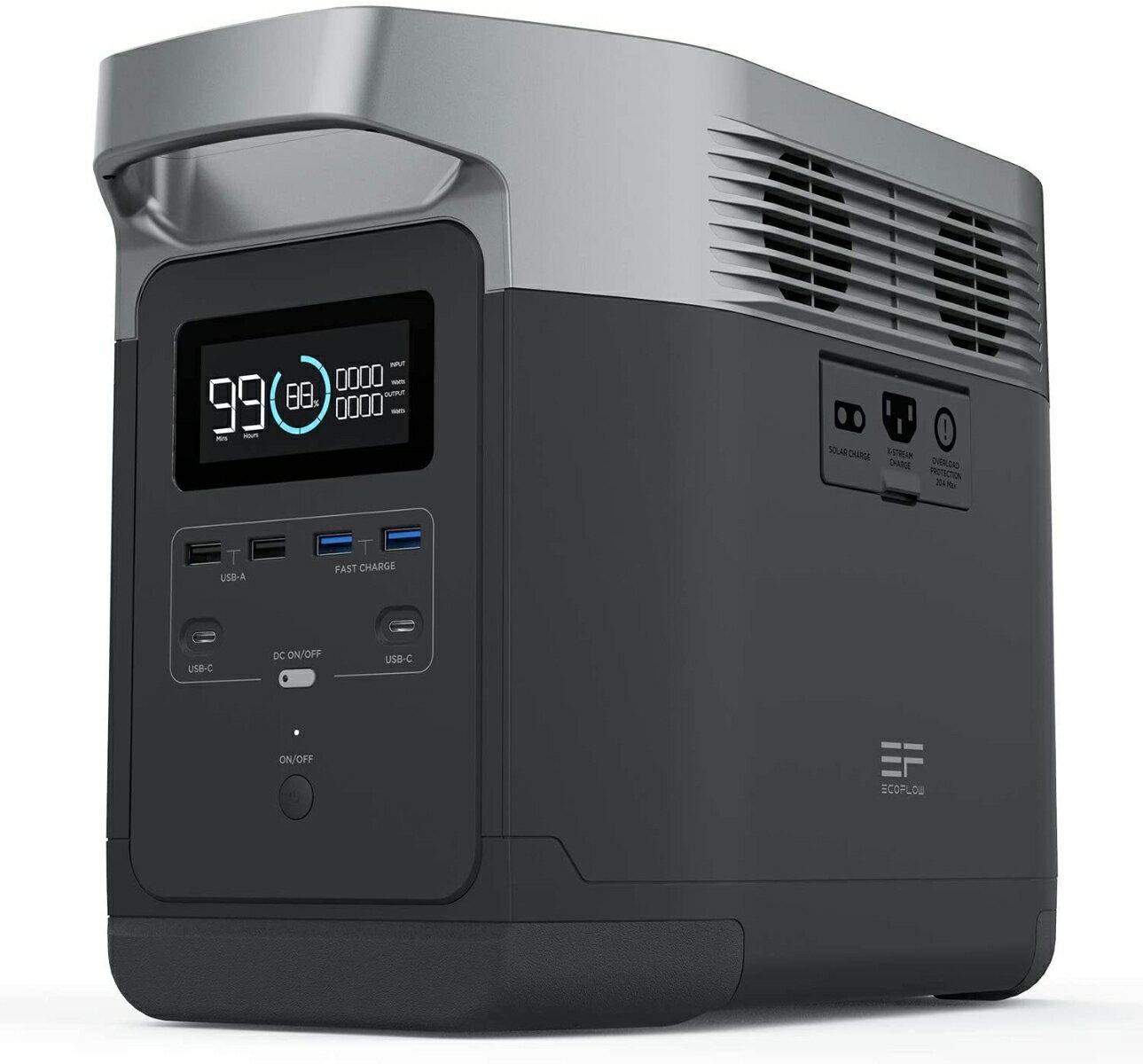 EcoFlow EFDELTA1300-JP ポータブル電源