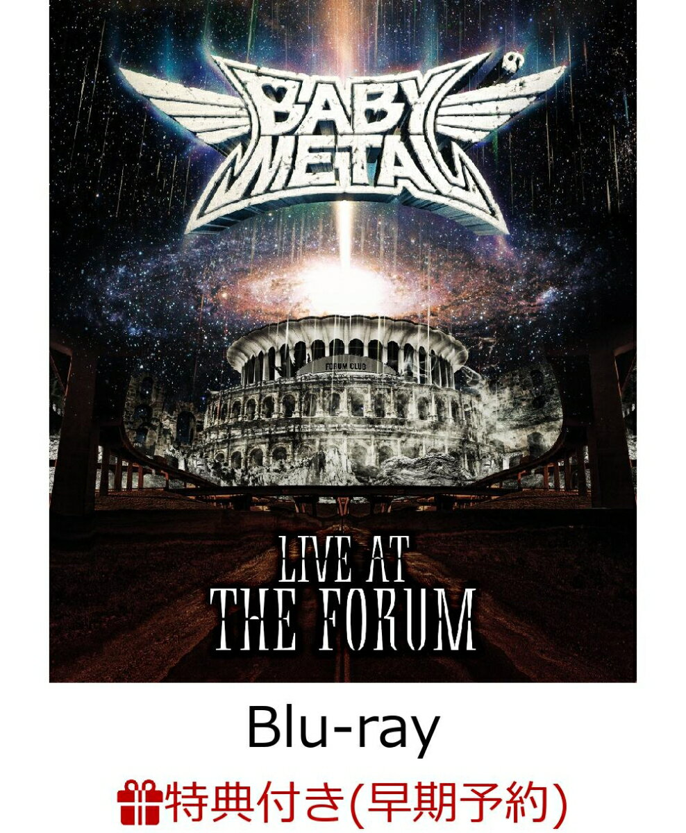 ミュージック, その他  LIVE AT THE FORUM(B3 )Blu-ray BABYMETAL