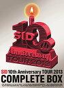 【楽天ブックスならいつでも送料無料】SID 10th Anniversary TOUR 2013 COMPLETE BOX 【完全生...
