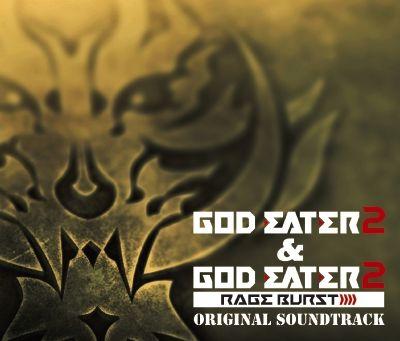 GOD EATER 2&GOD EATER 2 RAGE BURST ORIGINAL SOUNDTRACK (3CD+DVD)画像