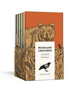 Woodland Creatures: A 10 Notebook Set WOODLAND CREATURES-10CY (Blackbird Letterpress) [ Kathryn Hunter ]