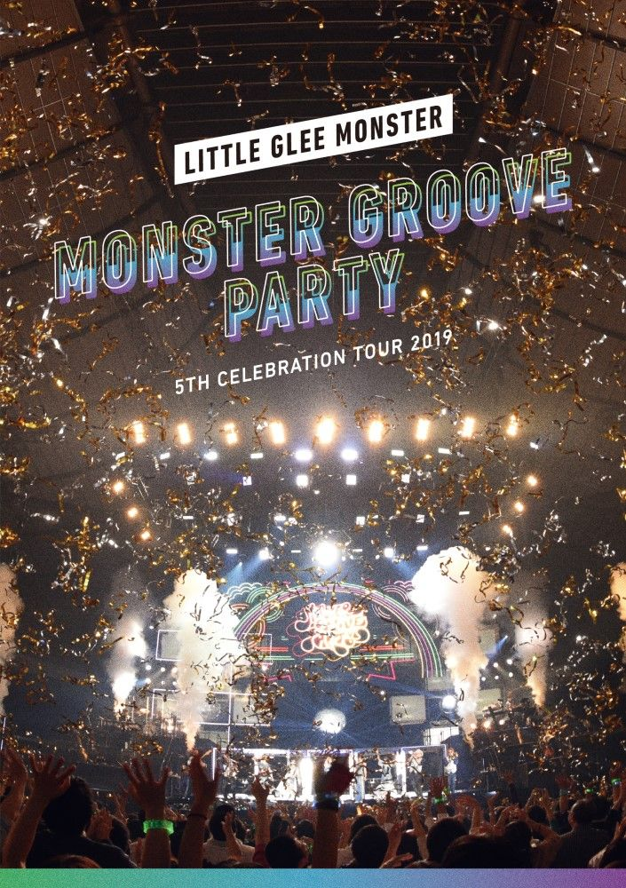 Little Glee Monster 5th Celebration Tour 2019 〜MONSTER GROOVE PARTY〜【Blu-ray】画像