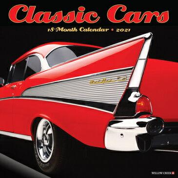Classic Cars 2021 Wall Calendar CLASSIC CARS 2021 WALL CAL [ Willow Creek Press ]