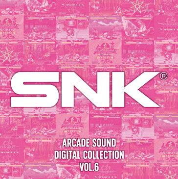SNK ARCADE SOUND DIGITAL COLLECTION Vol.6 [ SNK ]