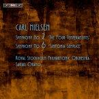【輸入盤】交響曲第2番『4つの気質」、第6番『素朴な交響曲』 オラモ&ロイヤル・ストックホルム・フィル [ ニールセン(1865-1931) ]