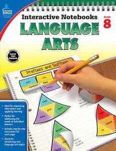 Language Arts, Grade 8 LANGUAGE ARTS GRADE 8 (Interactive Notebooks) [ Sara Haynes Blackwood ]