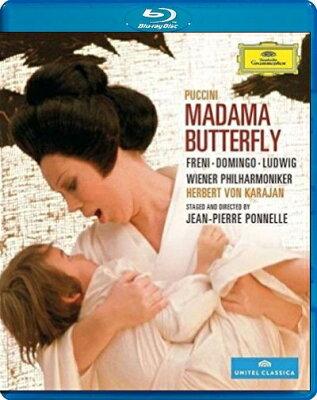 【輸入盤】『蝶々夫人』全曲(オペラ映画) ポネル演出、カラヤン&ウィーン・フィル、フレーニ、ドミンゴ、他(1974 ステレオ)