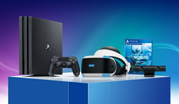 PlayStation4 Pro PlayStationVR Days of Play Pack 2TB
