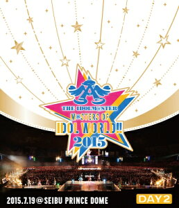 THE IDOLM@STER M@STERS OF IDOL WORLD!! 2015 Live Blu-ray Day2【Blu-ray】