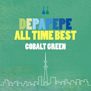DEPAPEPE ALL TIME BEST〜COBALT GREEN〜 (初回限定盤 CD+DVD)画像