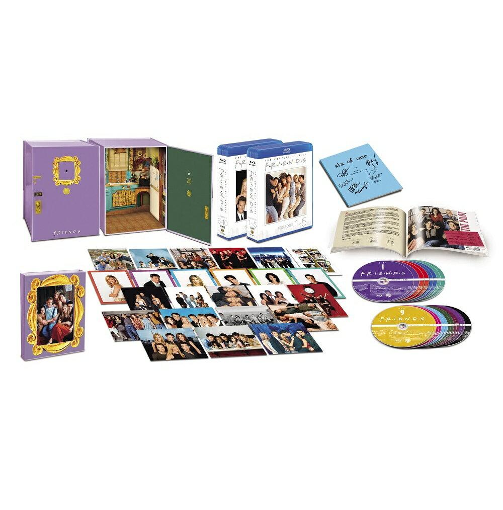 フレンズ <シーズン1-10>全巻Blu-rayプレミアムBOX(21枚組)(2500セット数量限定)【Blu-ray】