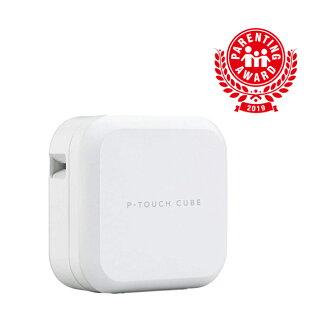 【5%OFFクーポン】ブラザー ラベルライター P-TOUCH CUBE PT-P710BT (スマホ対応/3.5mm~24mm幅/TZeテープ)
