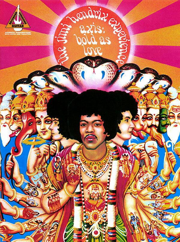 【輸入楽譜】ヘンドリクス, Jimi: Jimi Hendrix - Axis: Bold As Love: Guitar Recorded Version Series画像