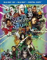 スーサイド・スクワッド エクステンデッド・エディション 3D&2Dブルーレイセット(初回仕様)(3枚組/デジタルコピー付き)【Blu-ray】