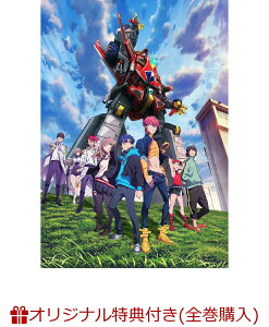 【楽天ブックス限定全巻購入特典】SSSS.DYNAZENON 4【DVD】(B2布ポスター&ロゴ缶バッジ)