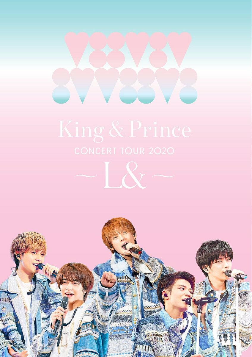 King & Prince CONCERT TOUR 2020 ~L&~(通常盤 Blu-ray)【Blu-ray】