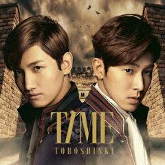 【送料無料】【楽天ブックス限定特典なし】TIME<ジャケットA>(CD+DVD) [ 東方神起 ]