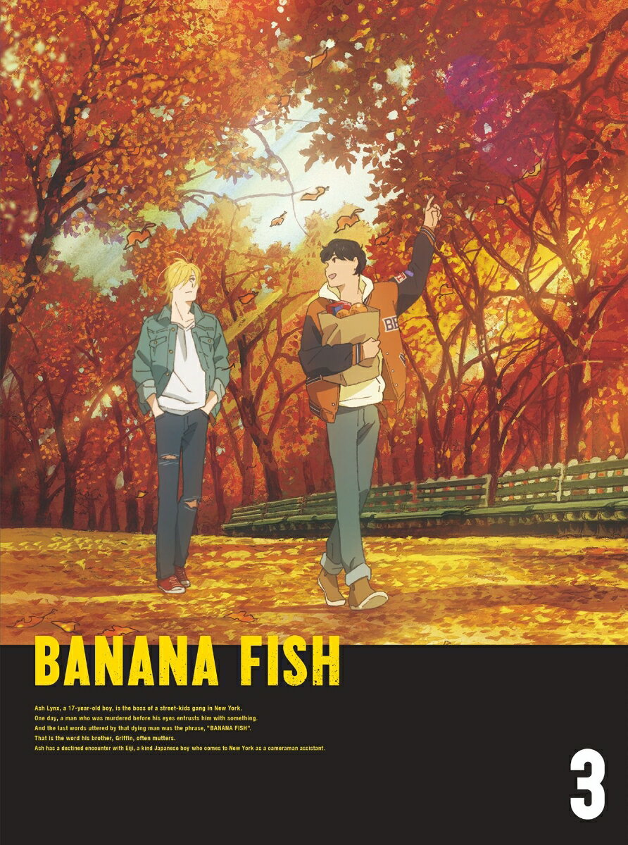 BANANA FISH Blu-ray Disc BOX 3(完全生産限定版)【Blu-ray】画像
