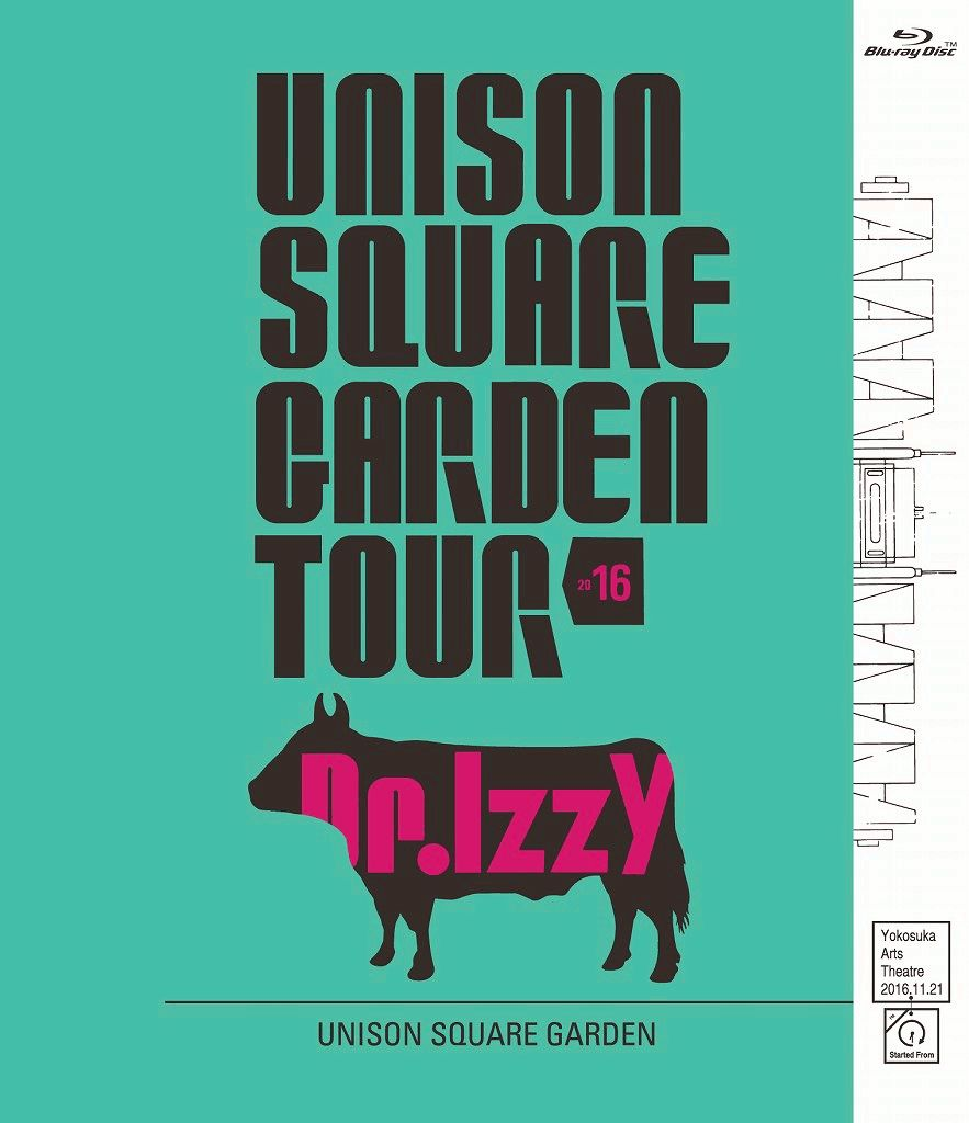 UNISON SQUARE GARDEN TOUR 2016 Dr.Izzy at Yokosuka Arts Theatre 2016.11.21【Blu-ray】画像