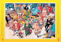 ONE PIECE コミックカレンダー2012