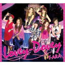 カラオケで人気のK-pop・韓国アイドル曲 「T-ARA」の「Lovey-Dovey」を収録したCDのジャケット写真。