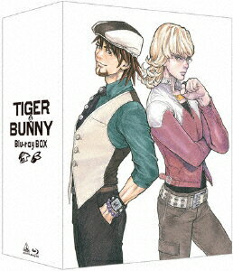 TIGER & BUNNY Blu-ray BOX【Blu-ray】画像