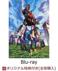 【楽天ブックス限定全巻購入特典】SSSS.DYNAZENON 3【Blu-ray】(B2布ポスター&ロゴ缶バッジ)