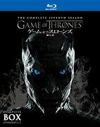ゲーム・オブ・スローンズ 第七章:氷と炎の歌 ブルーレイ コンプリート・ボックス(6枚組)<br />(初回限定生産)【Blu-ray】