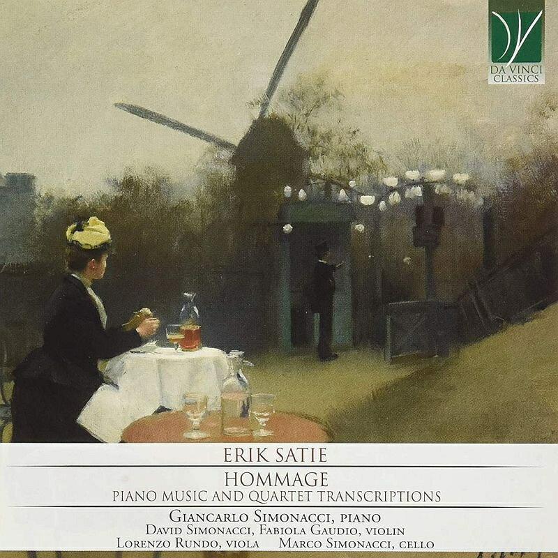 【輸入盤】Hommage-piano Music & Quartet Transcriptions: Simonacci(P) D.simonacci Gaudio Rundo M.simonacci画像