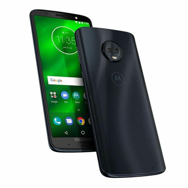 Motorola Moto G6+ Deep Indigo PAAT0026JP