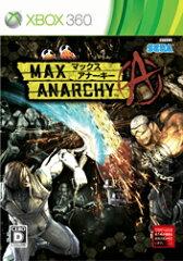 【送料無料】MAX ANARCHY(マックス アナーキー) Xbox360版