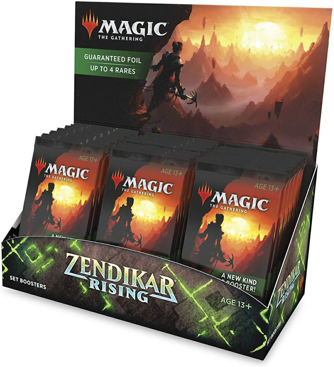 マジック:ザ・ギャザリング ゼンディカーの夜明け セット・ブースター 英語版 【30パック入りBOX】