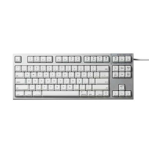 REALFORCE TKL SA for Mac 英語 テンキーレスキーボード (87配列 APC+静音 Mac) KT白 30g