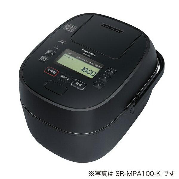 Panasonic 可変圧力IHジャー炊飯器 1.8L (ブラック) SR-MPA180-K