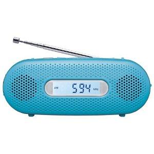 手回し充電ラジオ「RF-TJ10」